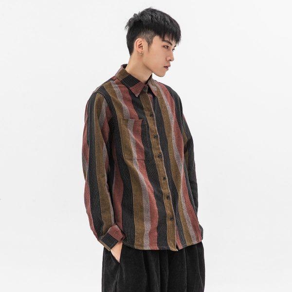 Striped Men's Shirts 2021