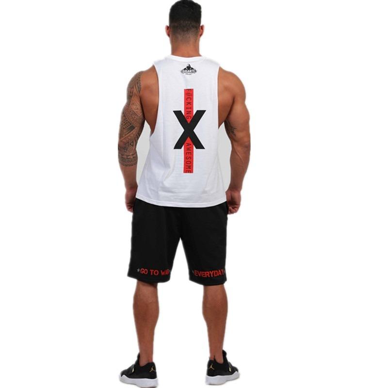 Bodybuilding Cotton Tank Tops