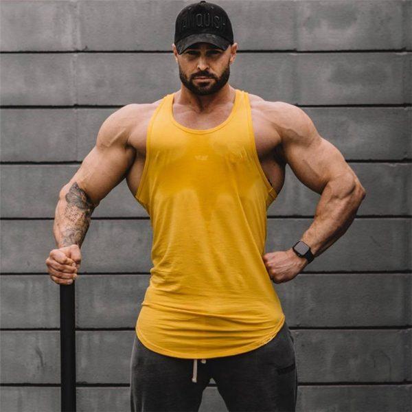 Bodybuilding Tank Tops Sleeveless Shirt