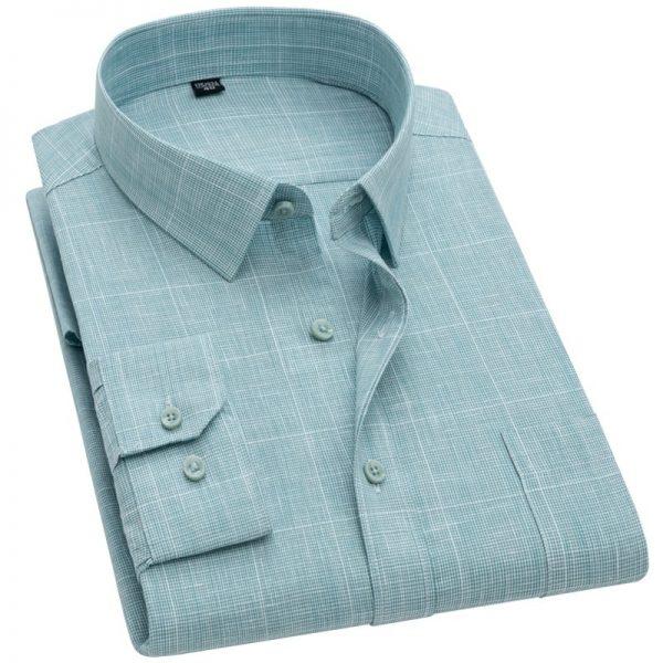 Breathable Plaid Checkered Shirts