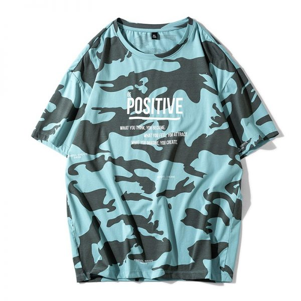 Camouflage T-shirt Casual T Shirts