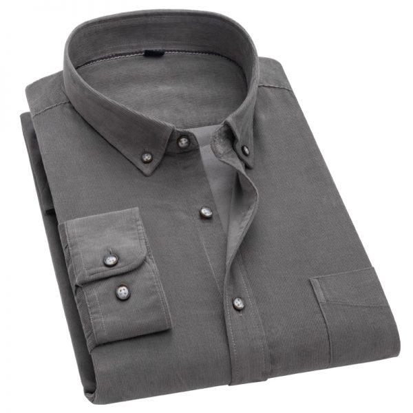 Casual Corduroy Cotton Shirts