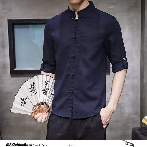 Casual Cotton Linen Shirt