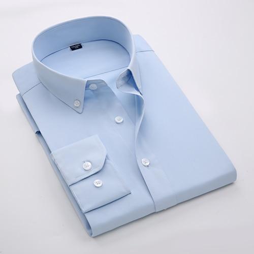 Casual Slim Fit Shirts Button Down Dress Shirt