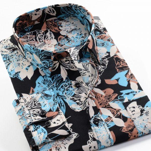 Classic Flower Print Shirts