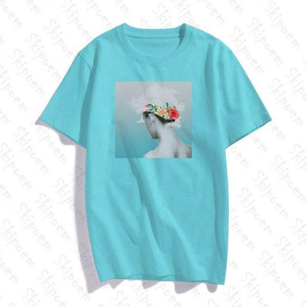 Creative Abstract Flower T Shirt