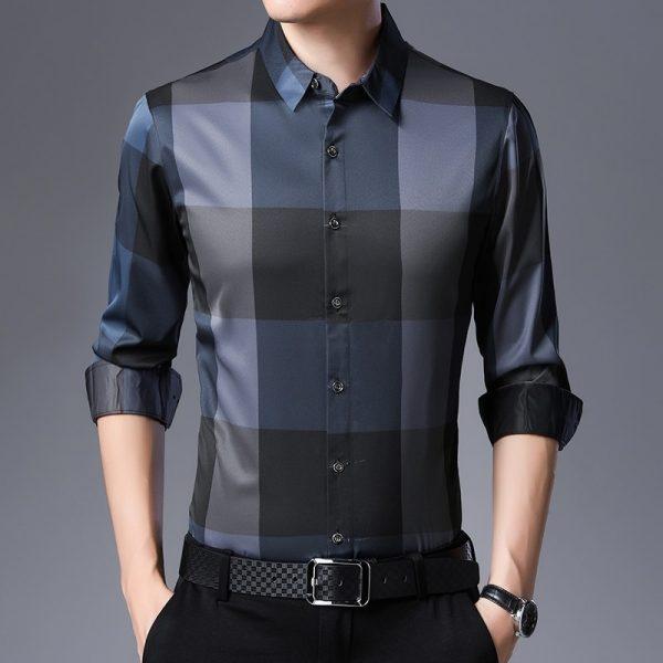 Dress Shirt Casual Men Shirts