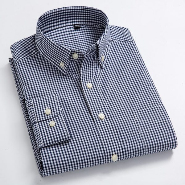 Elegant Classic Plaid Shirts