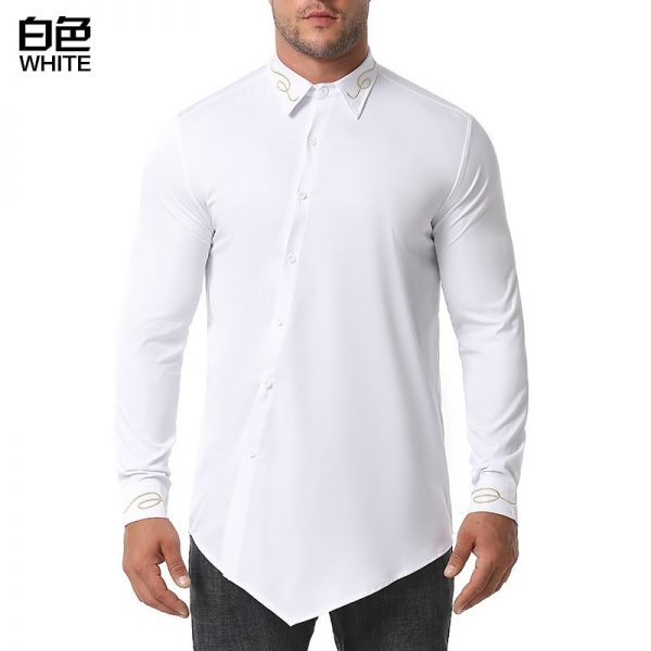 Embroidery Mens Western Shirts