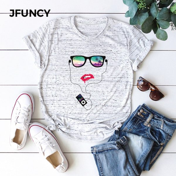 Face Graphic Printed Tshirt