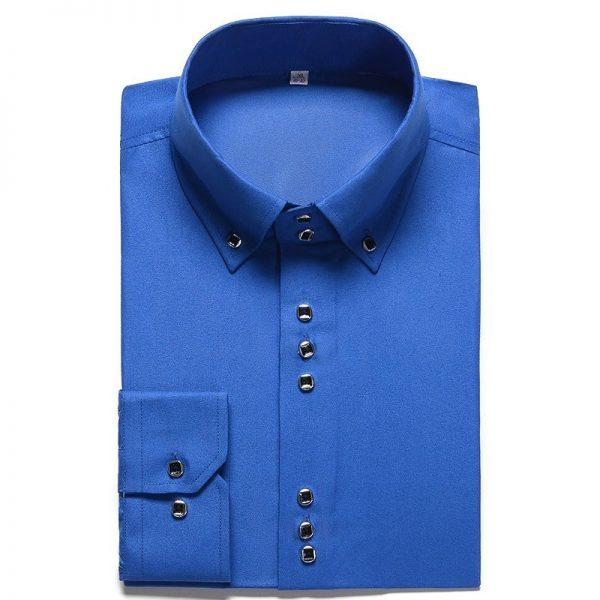 Fashion Casual Shirt Formal Dress Shirts