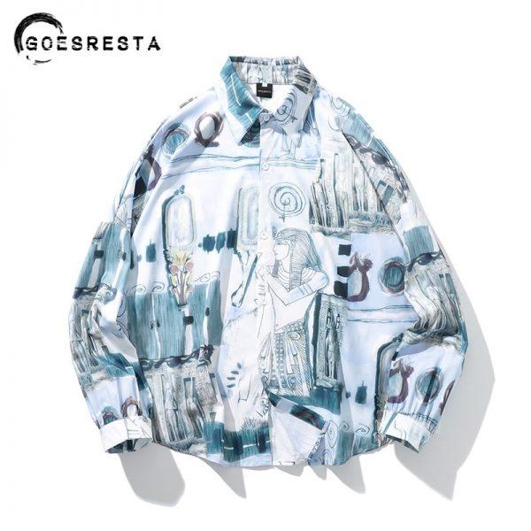 Fashion Drop Shoulder Shirts