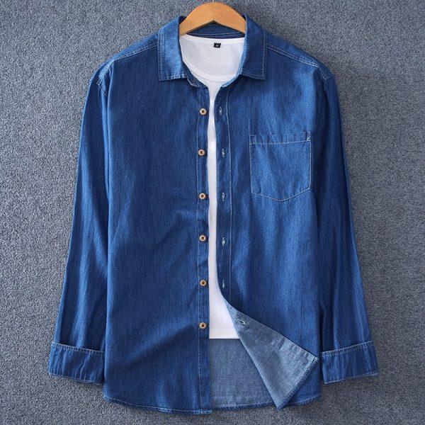 Fashion Men's Denim Shirt