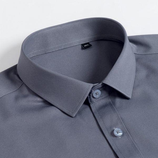 Fashion Solid Dress Shirts