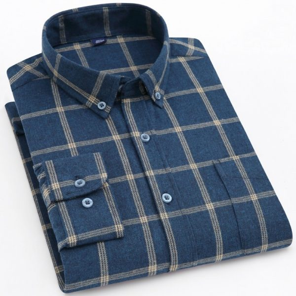 Flannel Plaid Checkered Shirts
