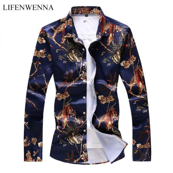 Floral Animal Print Shirt