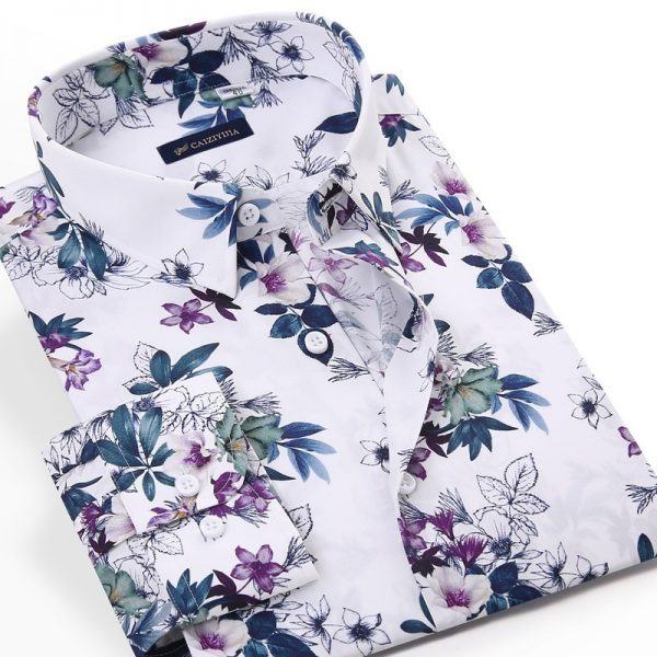 Floral Printed Cotton Shirts