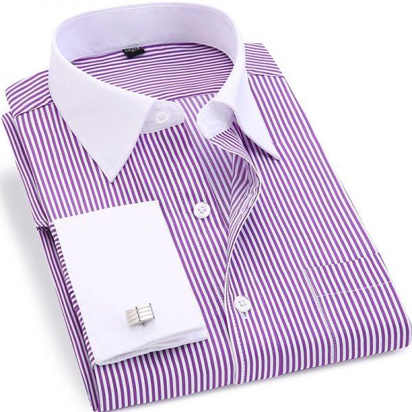 French Cufflinks Shirts Wedding Tuxedo Shirt