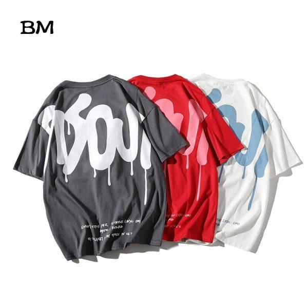 Harajuku T Shirt Hip Hop Tops