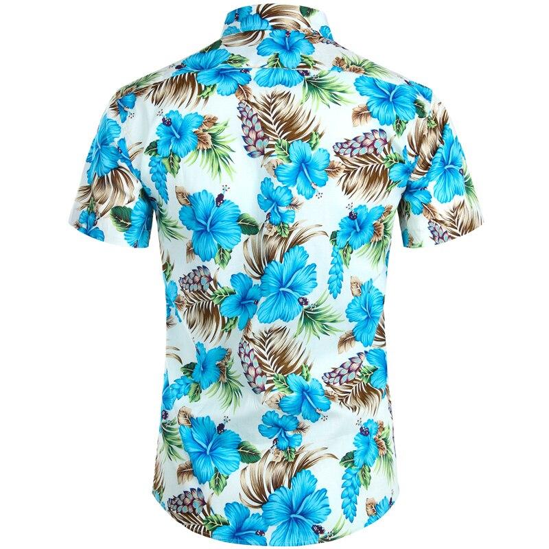 Hawaiian Shirts Floral Beach Shirt