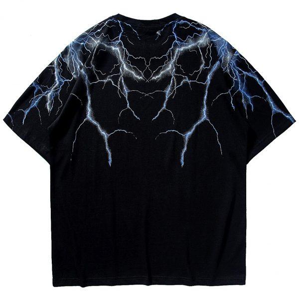 Lightning T Shirt Men Harajuku Tshirt