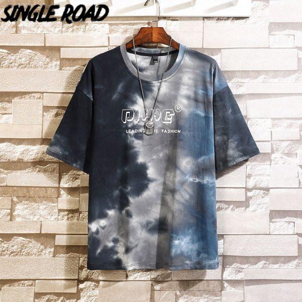 Man's T-shirt Hip Hop Japanese Streetwear
