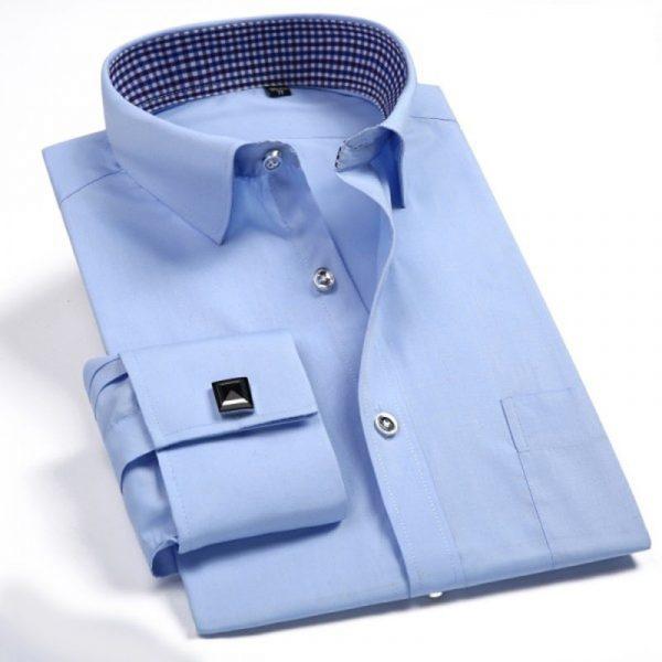 Men Dress Shirts Classic Business Fashion Shirt