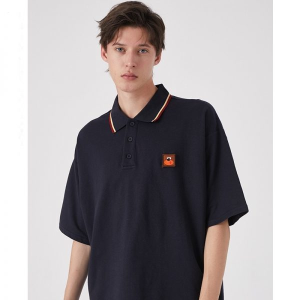 Men Polo Shirt Short Sleeved Tops