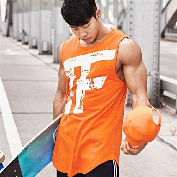 Men's Bodybuilding Vest Fitness Vest