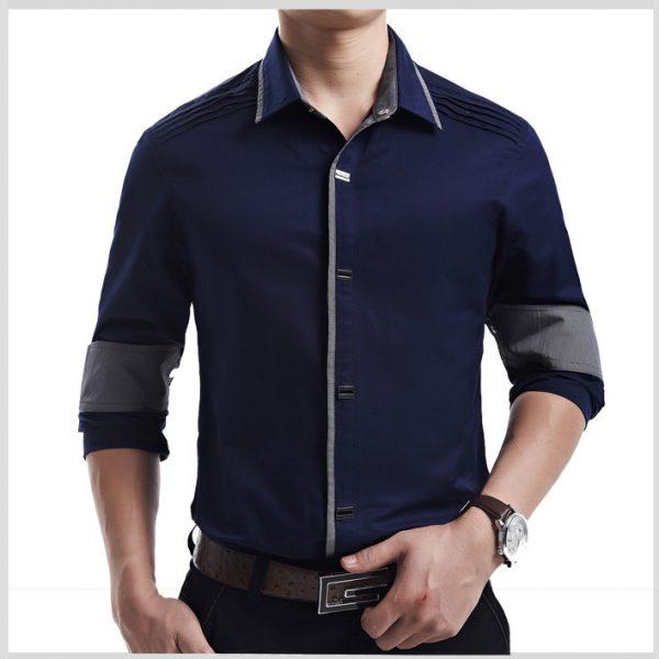 Men's Casual Shirt Cotton Dress Shirts