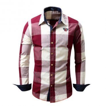 Men's Long Sleeve Shirt Business Style Shirts