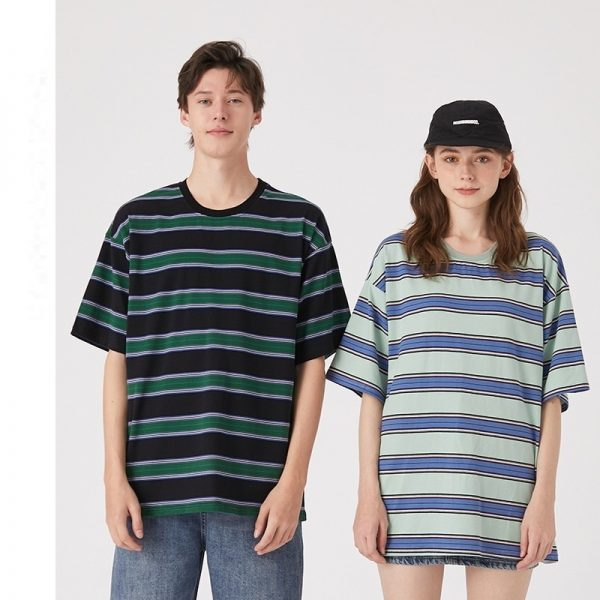 Mens Tee Shirts Loose T Shirts