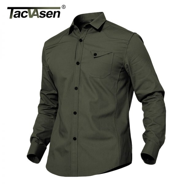 Military Casual Cotton Shirt