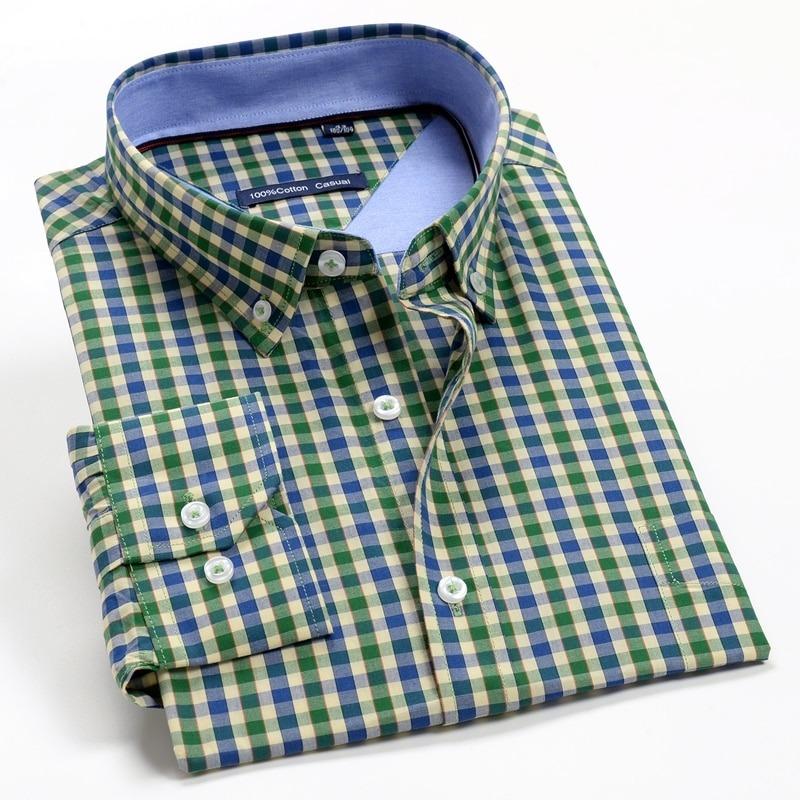 Plaid Long Sleeve Shirt