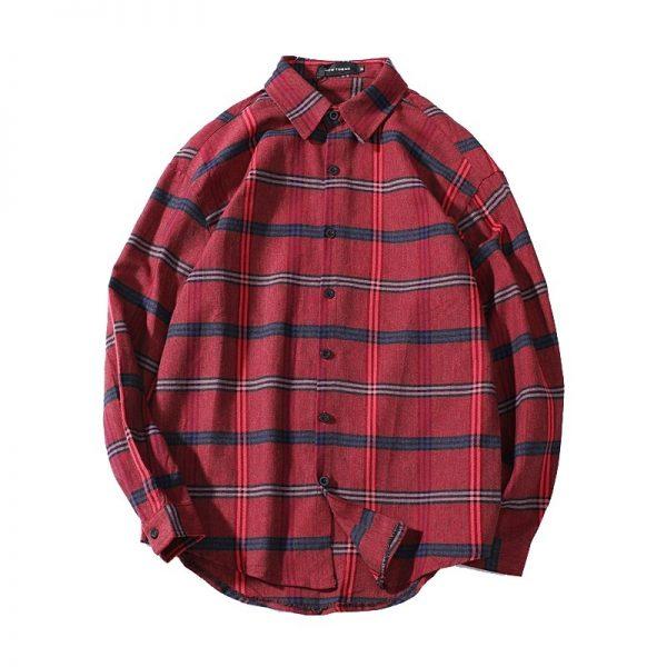 Plaid Slim Fit Shirt