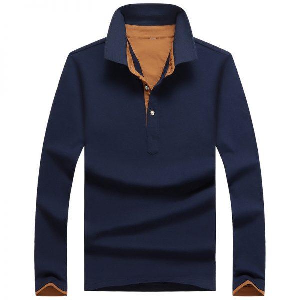 Polo Shirt Men Slim Fit Polos Tops