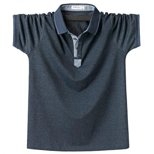 Polo Shirt Men Solid Polo Shirts