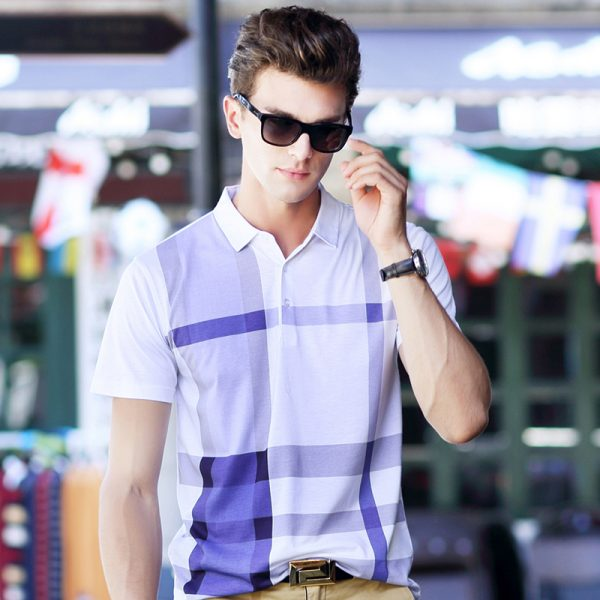 Polo Shirts Casual Men's Short Sleeved Shirt