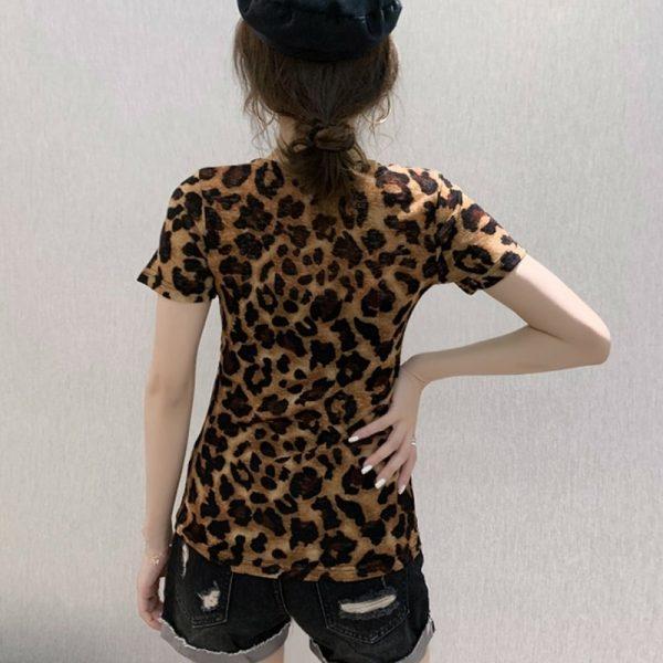 Sexy Leopard Print Tops