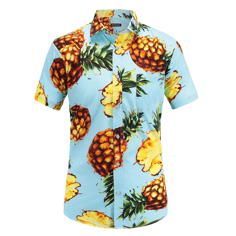 Short Sleeve Hawaiian Shirt Casual Floral Shirts