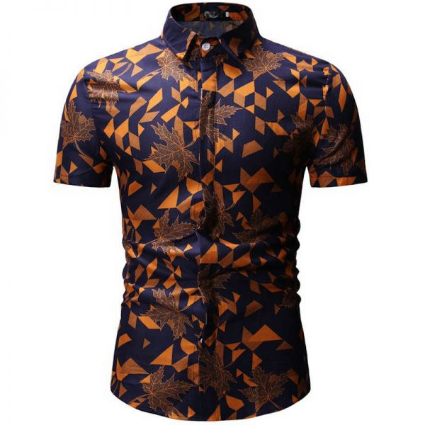 Summer Beach Hawaiian Shirt Floral Shirts