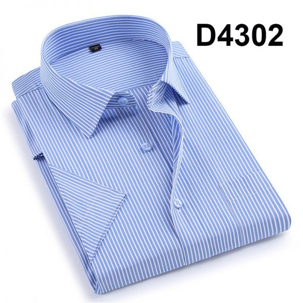 Summer Men Shirts Fashion Work Casual Shirt