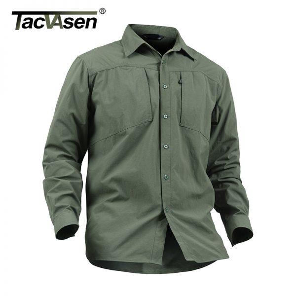 Summer Military Tactical Shirt