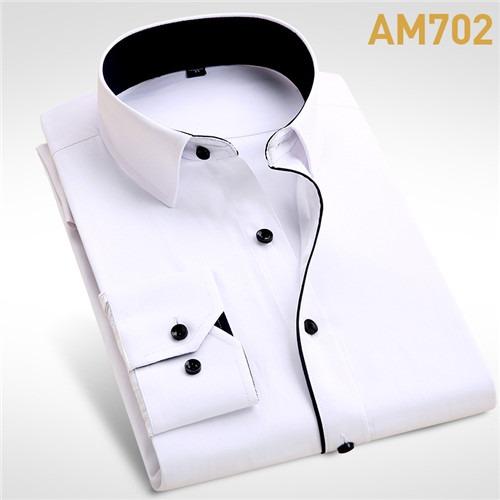 Wedding Shirt Long Sleeve Men Dress Shirt-1