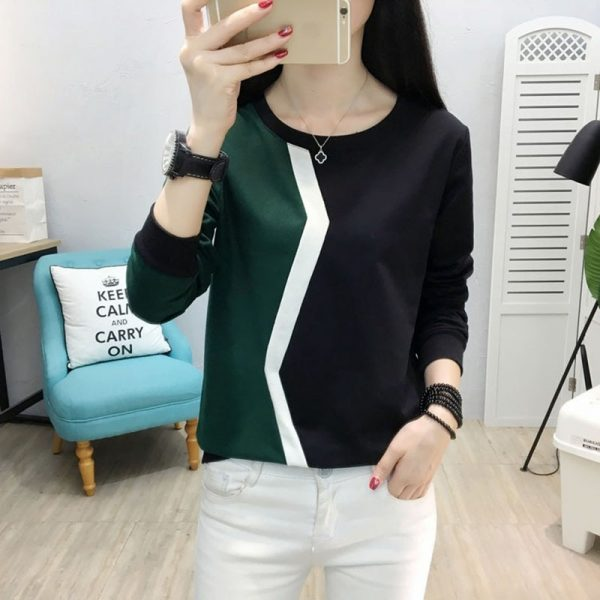 Women Tops Long Sleeve T-shirt