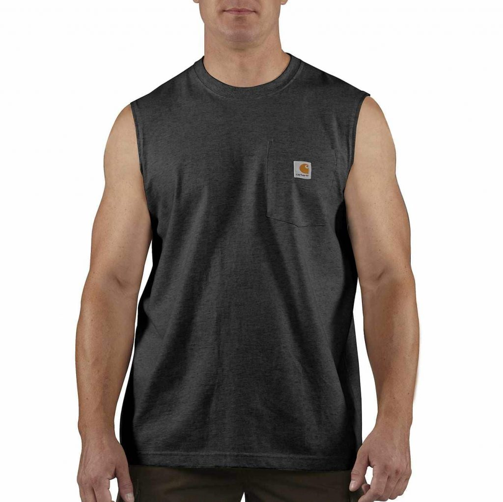 A Sleeveless T Shirt is Comfortable
