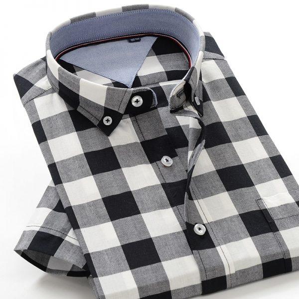 Classic Men Cotton Loose Shirt