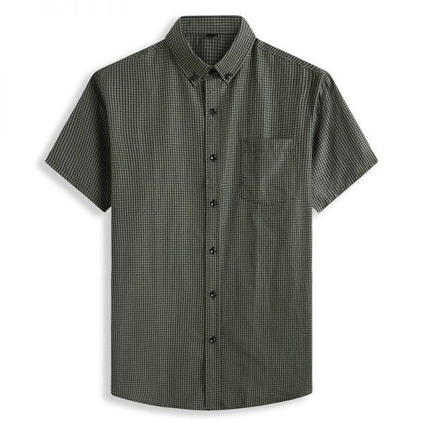Classic Plaid Short Sleeve Shirt