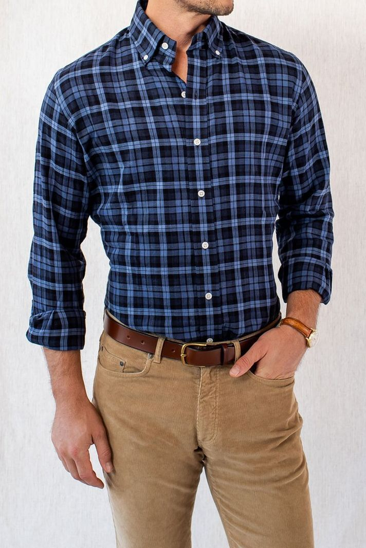 Look Chic and Professional With Our Wide Selection of Men's Casual Shirts