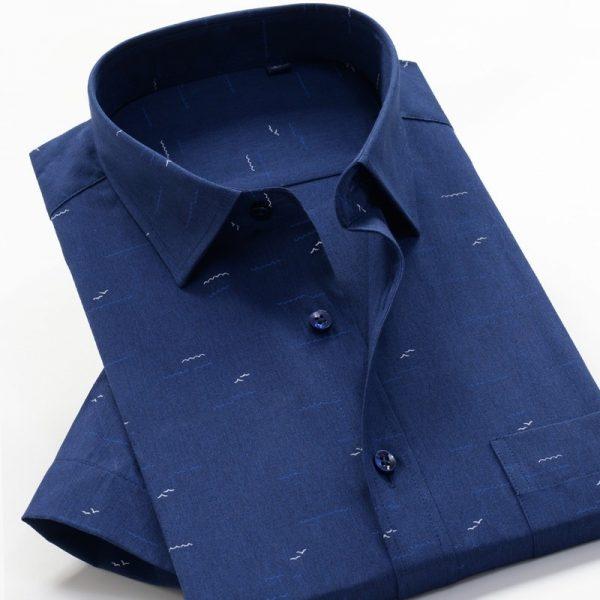 Summer Business Loose Cotton Shirt